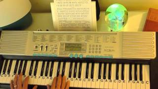 How to Play ~ What A Wonderful World ~ Louis Armstrong ~LetterNotePlayer ©