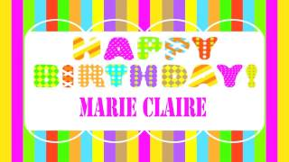 MarieClaire   Wishes & Mensajes6 - Happy Birthday