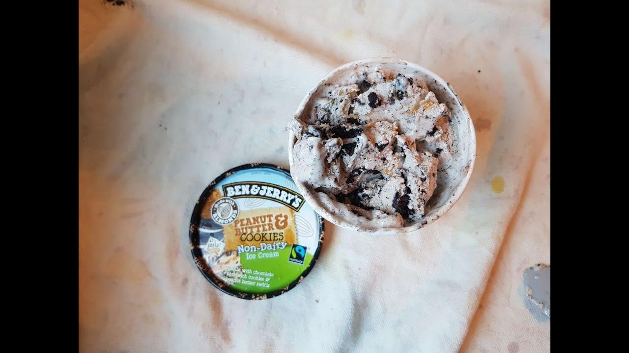 Rewe Peanut Cookie vegan Eis   wie kann es nur so geil sein ...