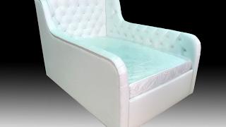 видео Детская кровать с бортиками