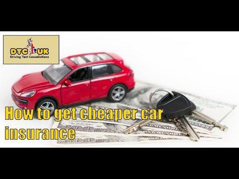 How to Get Cheaper Car Insurance - Unknown Secrect | DTC-UK | Driving Test UK