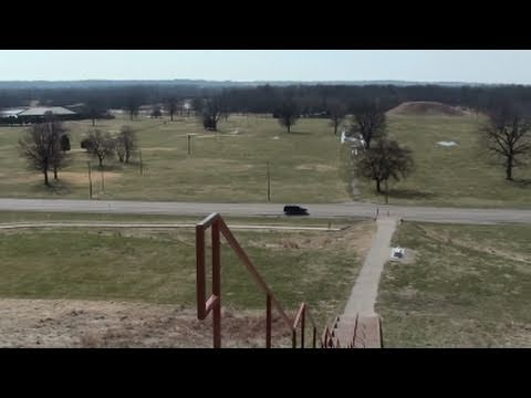 Monks Mound - Largest Prehistoric Manmade Earthen Structure in the Americas