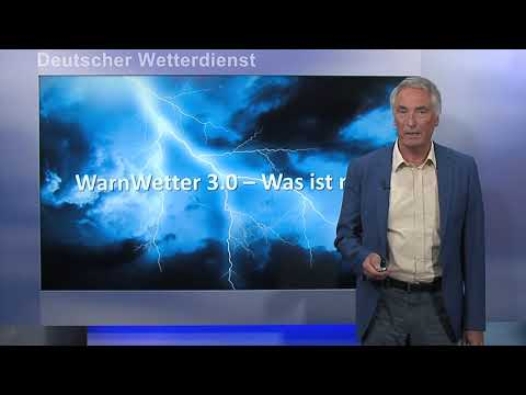 Neue Version 3.0 der DWD Warnwetter-App