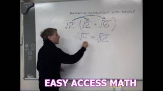 EASY ACCESS MATH MULTIṖLYING RADICALS