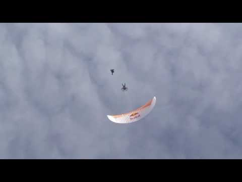 Powered Paragliding Pick n Flick BASE Jump Red Bull Air Force HD