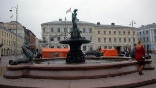 Хельсинки. Фонтан Хавис Аманда (Havis Amanda)(В парке Эспланади недалеко от концертной эстрады стоит известная достопримечательность Хельсинки — фонта..., 2012-05-06T08:57:28.000Z)