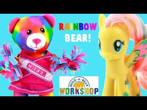 Fluttershy Buys A Rainbow Build A Bear For Rainbow Dash's Birthday!
