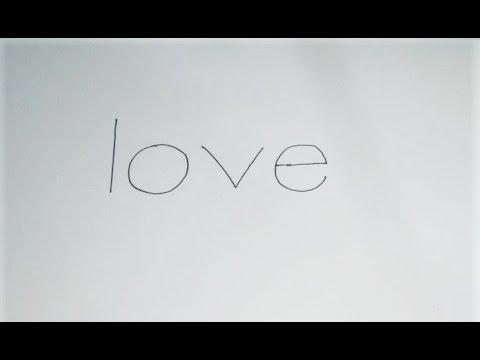 draw-couple-using-love-word.