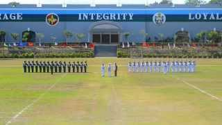PMA Siklab Diwa Class of 2014 Silent Drill || Homecoming 2013
