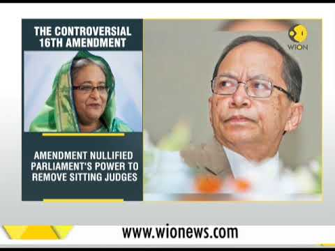 Breaking News: Bangladesh's chief justice forced to flee to Australia