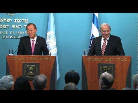 Press Conference with PM Netanyahu and UN Secretary General Ban Ki-Moon