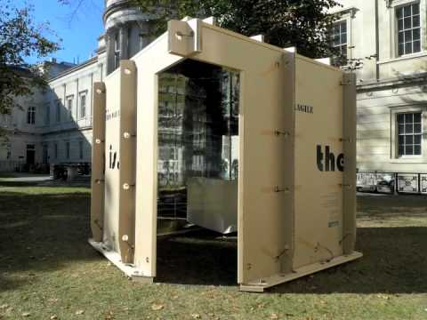 Mobile Studio's Portable Gallery (for UCL Museums & Collections)