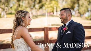 Tony + Madison   Laguna Niguel California Wedding Highlights