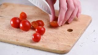 Видеорецепт Тёплый салат Терияки