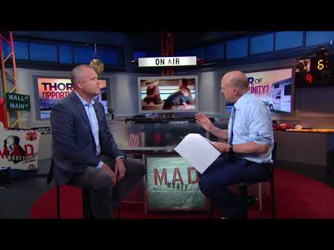 Thor Industries CEO: Understanding Tariff Effects | Mad Money