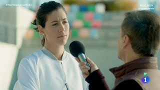 Penosa entrevista a GARBIÑE MUGURUZA | CONTRA EL MACHISMO TOLERANCIA CERO | #NocheviejaconMota