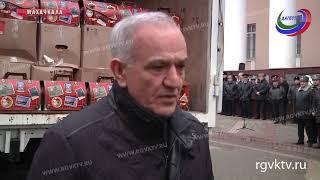 Сотрудники полиции Дагестана отправили новогодние подарки для детей ДНР