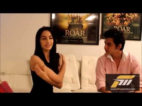 Nora Fatehi from Roar Movie Exclusive Interview   FilmyMantra.com