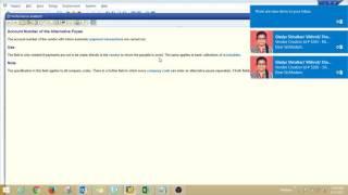 SAP MM satıcı kod oluşturma