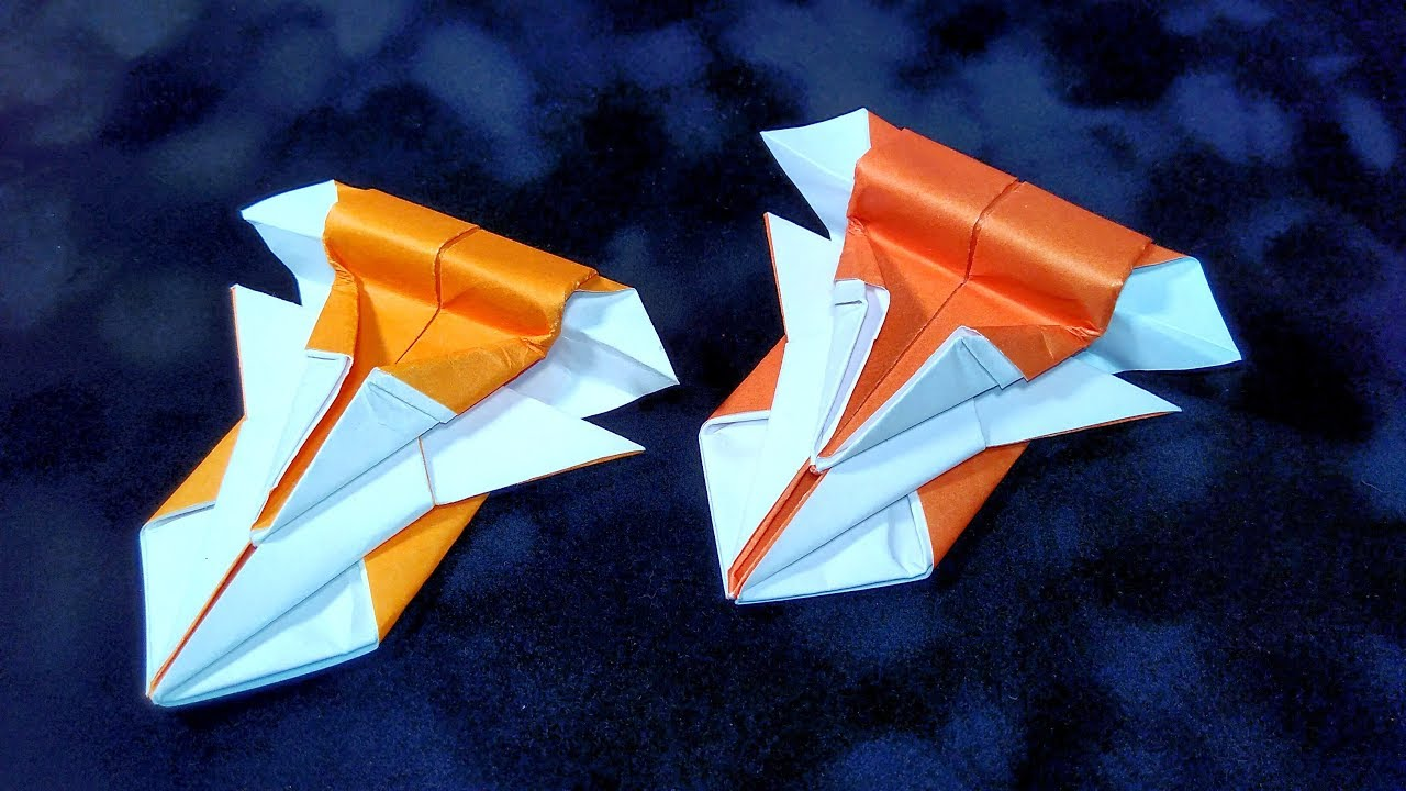 Paper SPACESHIP Origami Ship