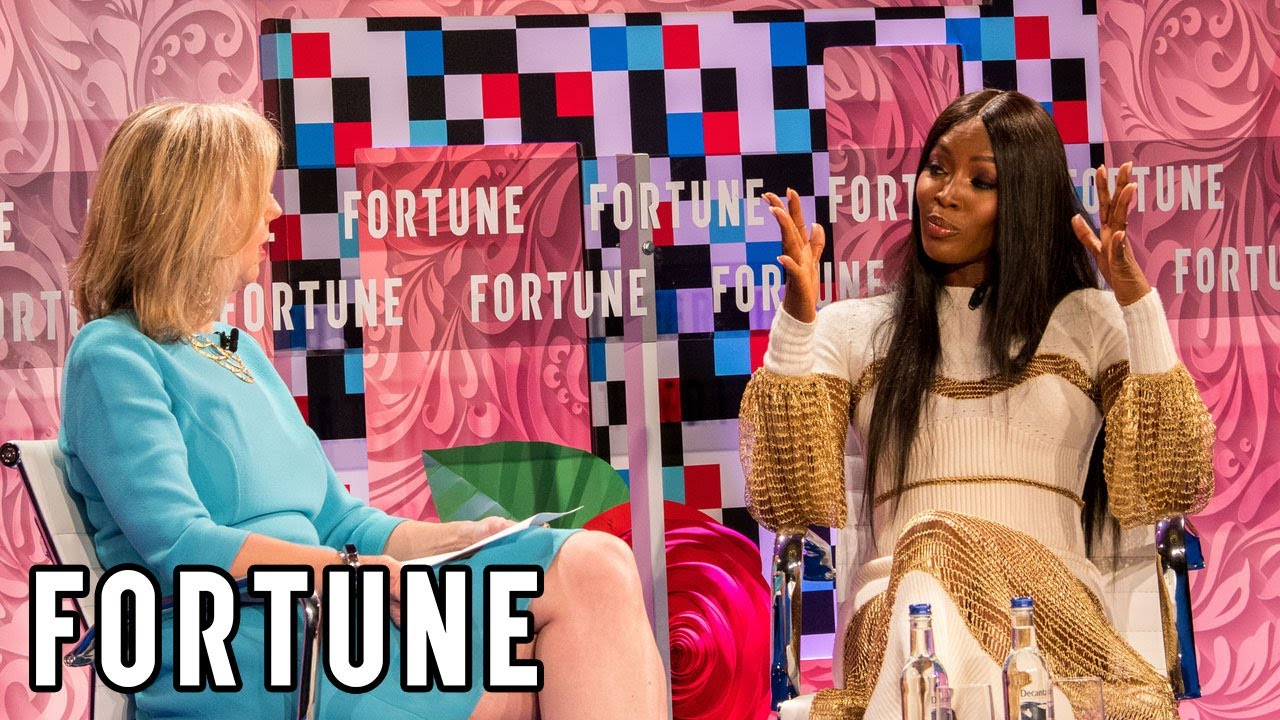 Naomi Campbell Interviewed by Nancy Gibbs I Fortune - YouTube