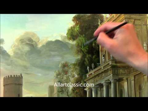 Classical Landscape Painting-Claude Lorrain