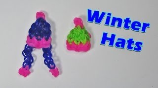 Rainbow Loom Charms: WINTER HAT Tutorial