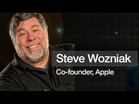Steve Wozniak, co-founder of Apple, speaks at SVIEF. Silicon