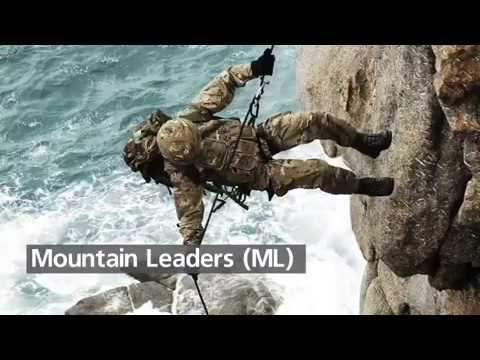 Royal Marine Mountain Leaders!