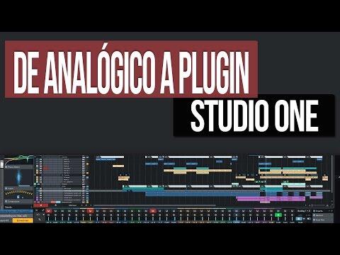 Usar Hardware #Analógico como #Plugin   Studio One 3