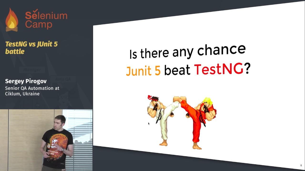 TestNG vs JUnit 5 battle