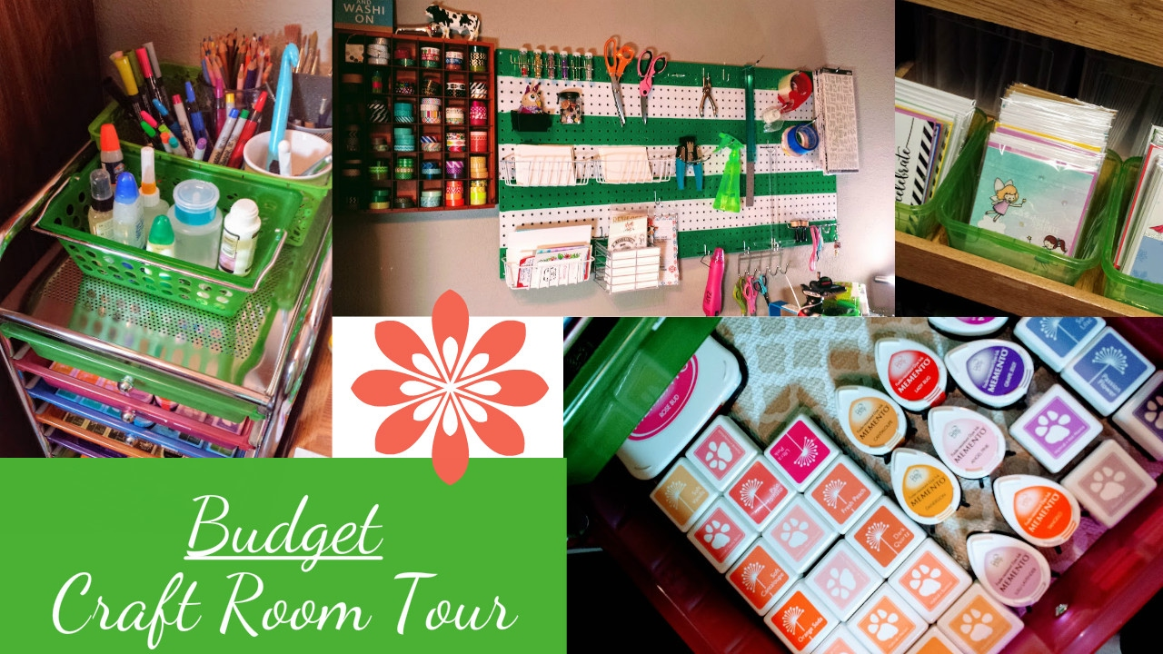 Craft rooms on a budget - Budget Craft Room Tour