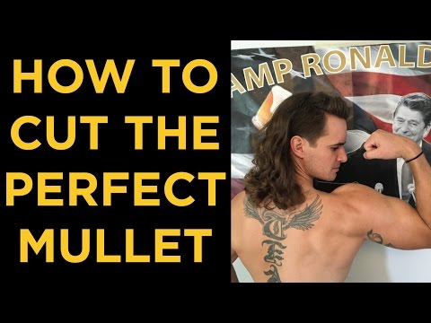 HOW TO CUT THE PERFECT MULLET