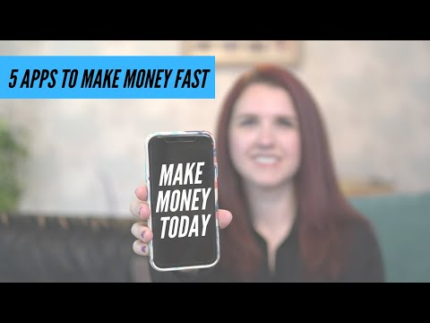 5 APPS TO MAKE MONEY ONLINE from your phone In 2021