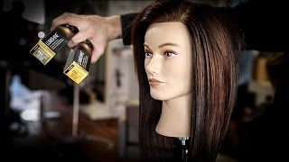 Adding Dimensional Hair Color To A Long Layered Haircut Tutorial   MATT BECK VLOG 98