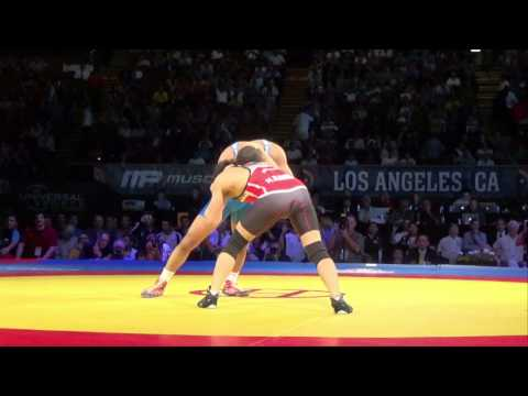 55 KG Angel Escobedo USA vs Hassan Rahimi Iran