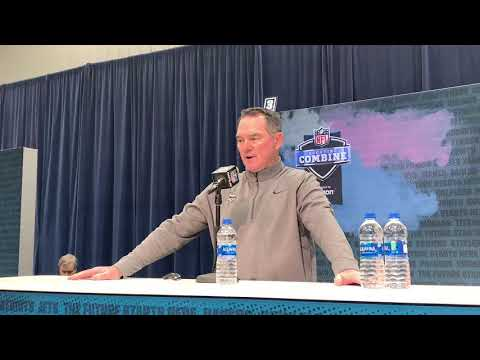 Minnesota Vikings HC Mike Zimmer on Former Notre Dame safety Harrison Smith