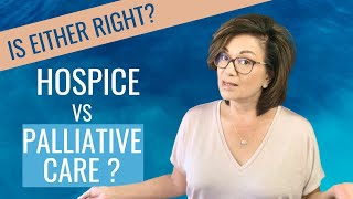 Hospice vs palliative care. one day you might be asked to choose of these for your aging parent. the emotions could overwhelming when faced with these...
