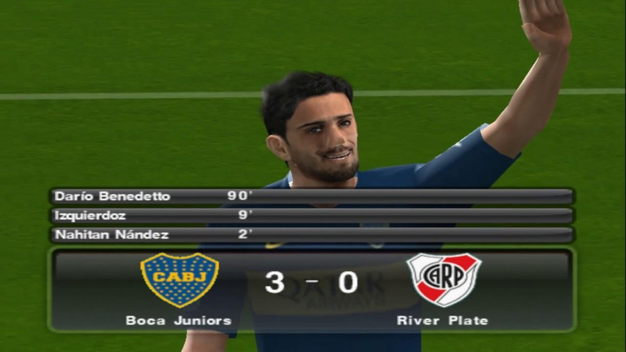 PES 2019 (PS2) Boca Juniors vs River Plate (1080p)