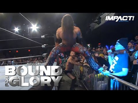 Johnny IMPACT Takes Out Austin Aries with INSANE Moonsault in Bound for Glory 2018 Main Event!