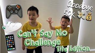 CAN'T SAY NO CHALLENGE | TITAs EDITION | I love Trinoma