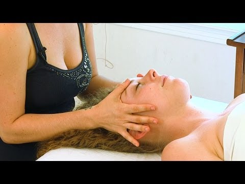 Face & Head Massage Therapy How To Techniques, Jen Hilman Corrina Rachel Relaxing ASMR Massage
