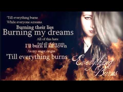 Everything Burns By Ben Moody Ft. Anastacia || Cover By Carlyann