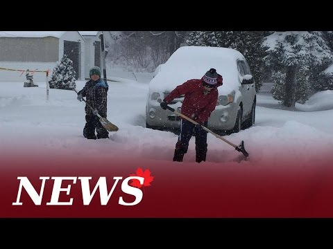 Winter Storm Ends In Sudbury After 20 To 30 Cm Of Snow