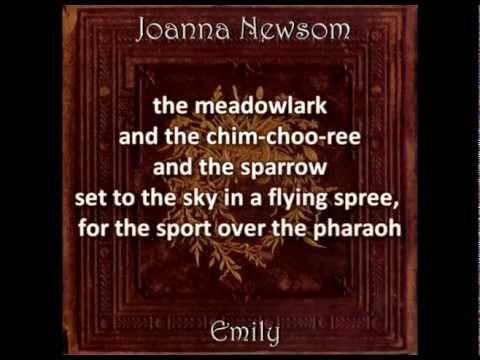 Joanna Newsom - Emily (with lyrics)