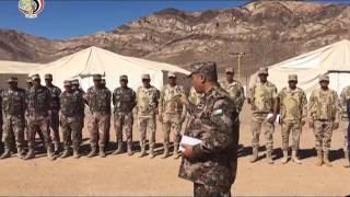 انطلاق فعاليات التدريب العسكري المصري الأردني المشترك «العقبة 2016» .. فيديو