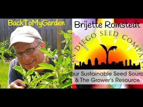 Organic Heirloom Seeds from California with Brijette Romstedt