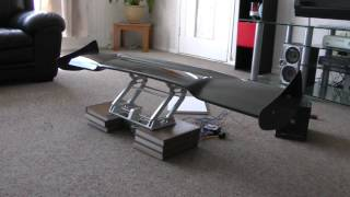Remote controlled wing - rear spoiler