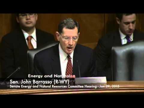 Sen. John Barrasso (R-WY) on his LNG Export Bill