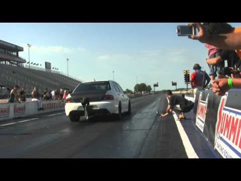 STM Evo RS goes 8.71@168mph at the 2012 DSM / EVo Shootout!